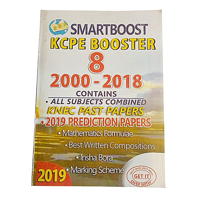 Smarboost KCPE Booster 8- With 2000-2018 KCPE Past papers