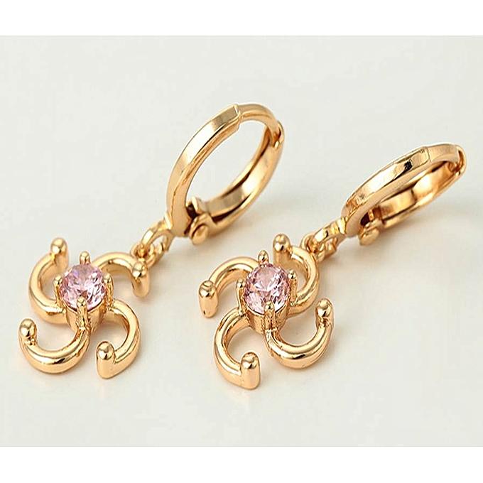 Carjay Jewels Gold Coated Earring Best Price Online