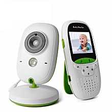 VB602 2.4G Wireless Baby Monitor 2 Inch Electronic Babysitter Security Camera Two-way Audio Night Vision Temperature Monitoring # EU