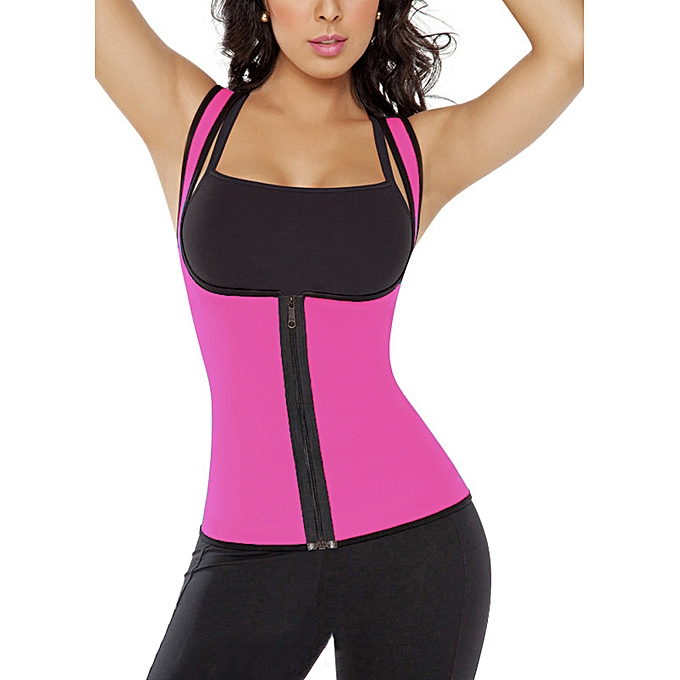 ce994fb3daa Fashion Women Body Shaper Slimming Waist Trainer Contrast Cincher ...