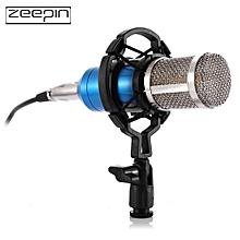 ZEEPIN BM - 800 Audio Sound Recording Condenser Microphone with Shock Mount - BLUE