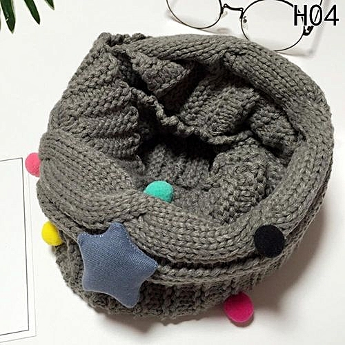 Buy Fashion New Design Soft Candy Color Neck Bib Scarfs Kids Knitted ...
