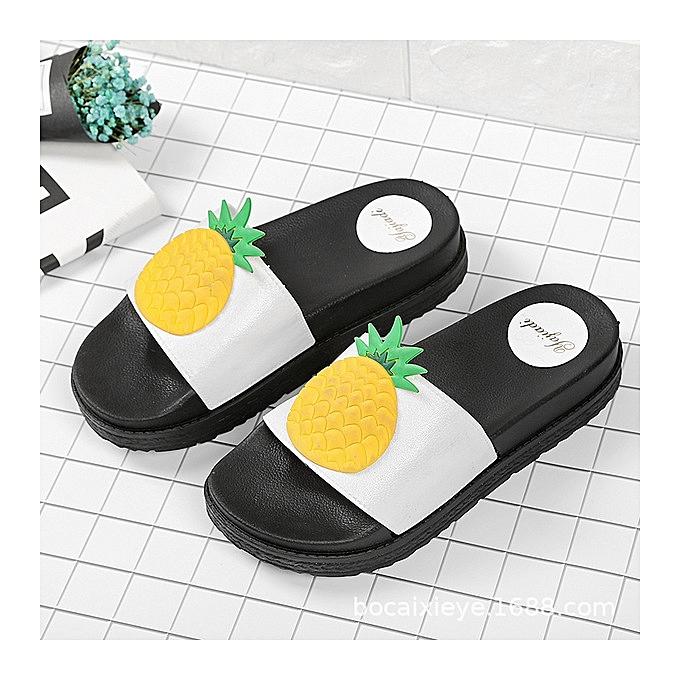 547e419b6b0e4d Hot sale Women Slippers Fashion Summer lovely Ladies Casual Slip On Fruit  jelly Beach Flip Flops