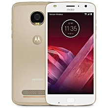 Moto Z2 Play 5.5-Inch HD (4GB, 64GB ROM) Android 7.1 Nougat, 12MP + 5MP Dual SIM 4G Smartphone - Fine Gold