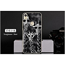 Phone Case For TECNO CXAIR Fashion Soft Silicone Phone Cover For TECNO CXAIR Cxair Silicone Marble Painted Case