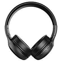 B19 Wireless Headset Bluetooth Head Wear With High Fidelity Stereo Headphones Black