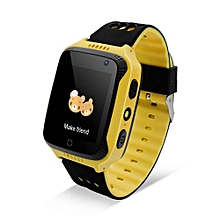 """1.44"""" 2G Kids Smart Watch For Android/IOS 400mAh Camera - Yellow"""