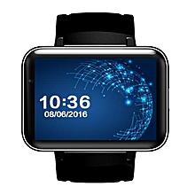 DM98 Dual Core 3G Smart Watch Phone 2.2'' Screen WIFI GPS Bluetooth Android 5.1 Black