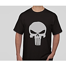 Punisher Classic Skull Symbol Graphic Custom T-Shirt