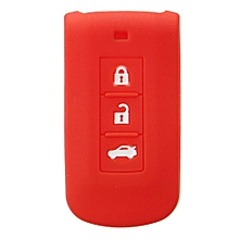 FIT FOR MITSUBISHI LANCER OUTLANDER PAJERO ASX SILICONE KEY REMOTE HOLDER COVER