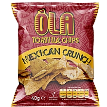 Tortilla Chips, Mexican Crunch, 40g
