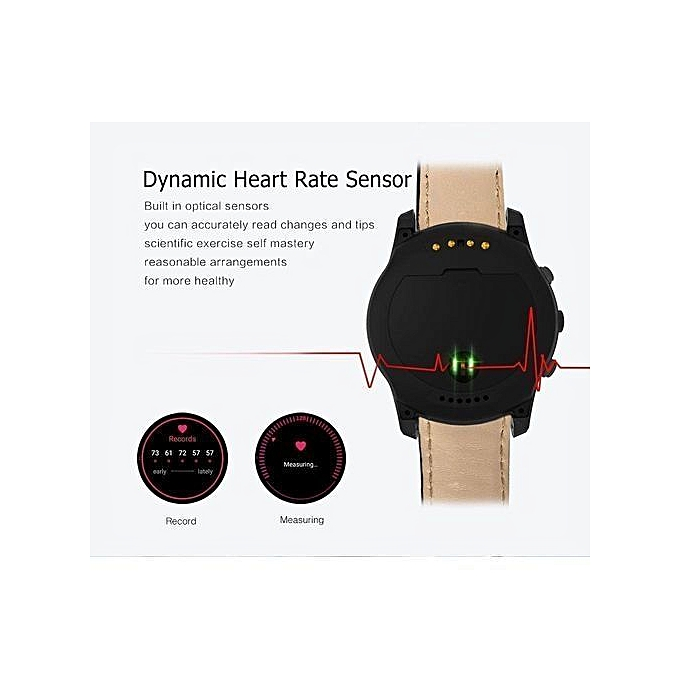 Q7 Smart Watch With Camera Support 32GB TF Card 3G Wifi GPS Bluetooth Heart  Rate Smartwatch For Android IOS - Black