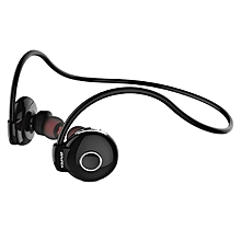 A845BL Wireless Sport Bluetooth In-Ear Earphones with Mic - Black