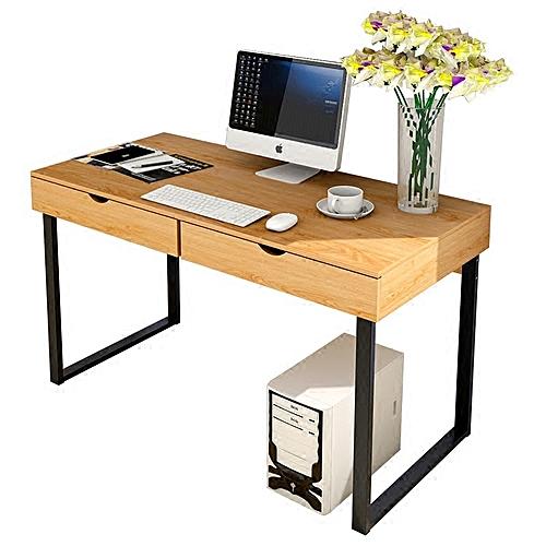 Strange Qukau Wooden Desk Computer Table 100 48Cm Household Desk Simple Modern Desk Reading Room Interior Design Ideas Inesswwsoteloinfo