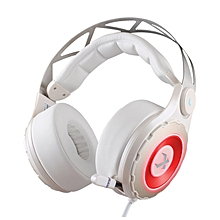 XIBERIA T18 Gaming Headphones Stereo Low Bass with Microphone white