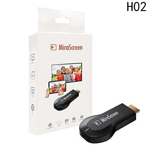 WiFi 1080P Full HD HDMI TV Stick AnyCast DLNA Wireless Chromecast Airplay  Dongle Mirascreen