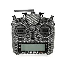 Frsky Taranis X9D Plus SE Radio Transmitter Special Version w/ Aluminum Alloy Stand & Switch Cap-Blazing Skull Left Hand