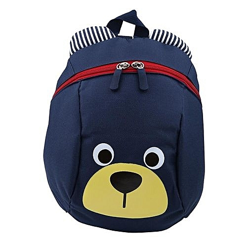 74d61205b17 UNIVERSAL Toddler Backpack Anti-lost Kids Children Bag Cute Cartoon Kindergarten  School Bags(Dark Blue)