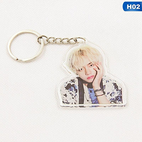 1 Pcs Kpop BTS WINGS Album Bangtan Boys Key Chain Personalized Key Ring  Pendant