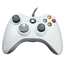 White Wired USB Gamepad Joystick Joypad Controller For Xbox 360 Console & PC
