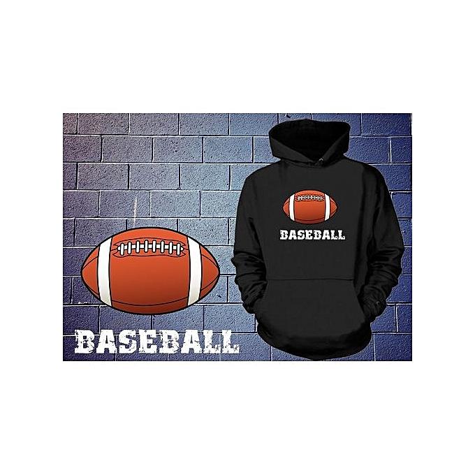 e5ad9507 Baseball Hoodie Funny Baseball Football Sweatshirt Funny Sport Sweater  Sarcasm Hooded Shirt