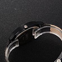 Fohting GAIETY New Men Fashion Leather Bracelet Quartz Cowboy Wrist Watch Jewelry -As Picture