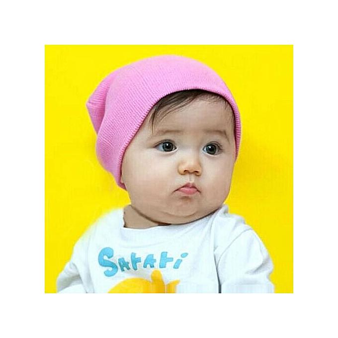 Baby Beanie Boy Girls Soft Hat Children Winter Warm Kids Knitted Cap PK 5bf9b7c390ec