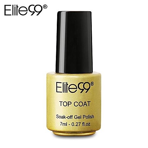 Generic Elite99 7ml LED UV Top Coat Nail Polish Primer Varnish ...