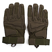 Full Glove Military Tactical Army Green L