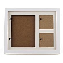 Baby Photo Handprint Kit Footprint Photo Frame For Newborn Babys And Room Decor