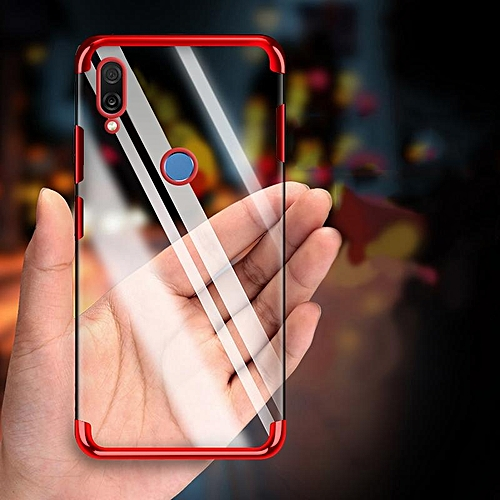 size 40 08f00 81907 For Huawei Nova 3i Case Clear Luxury Laser Plating Transparent Soft Back  Cover For Huawei Nova 3i Phone Case 233106 c-0 (Color:Main Picture)