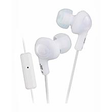 HA-FR6 - Gumy Plus Inner Ear Headphones - White