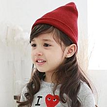 f53b3b9ad7b Baby Beanie Boy Girls Soft Hat Children Winter Warm Kids Knitted Cap RD