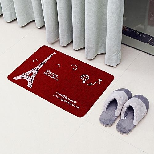 Generic Kitchen Area Non Slip Rug Bedroom Floor Mats Hallway Door