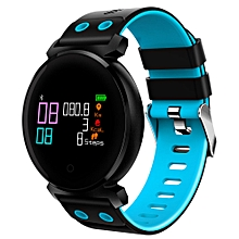 "K2 - 0.95"" Smart Watch 200mAh Bluetooth Remote Camera - Blue"