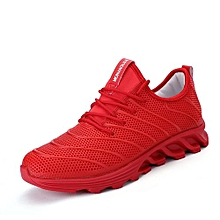 Mens Smart Sport Shoes-Red