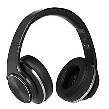 2 in 1 Bluetooth Headphones Over-ear Headset black