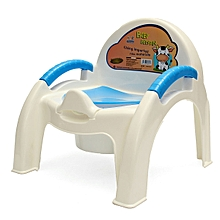 BABY Child Toliet Seat Chair Potty Training Toddler Removable Kids Easy Clean Blue