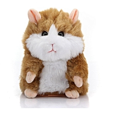 Mimicry Speak Talking Sound Record Electronic Hamster Plush XMasToy Gift Cute Yellow