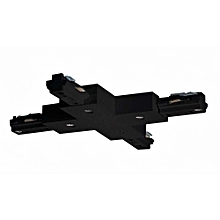 T- CONNECTOR FOR TRACK (BLACK)