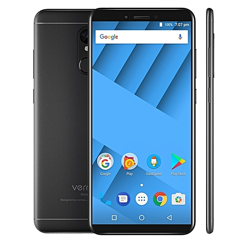 M6 4GB+64GB Fingerprint Identification 5.7 inch Android 7.0 MTK6750 Octa Core up to 1.5GHz 4G Smartphone(Black)