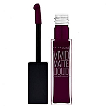 Sensational Vivid Matte Lip Color - Deepest Plum 47