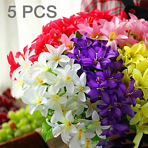Buy Generic 5 Pcs Artificial Flower Home Decoration Wreath Fake - Which-artificial-flower-colors-are-good-for-a-home