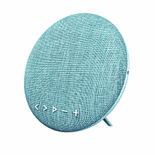 Fabric Bluetooth Speaker New Hand-free Speakerphone Bluetooth-As Shown