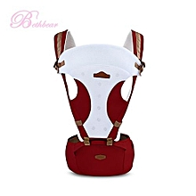 Carrier Infant Backpack Waist Stool Baby Hip Seat_CLARET