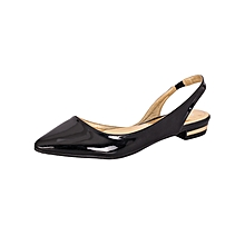 Black Women's Office Shoes