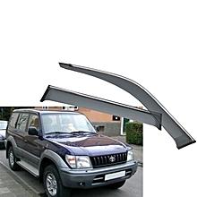Car Windbreaker/ Window Visor 4pcs for Prado