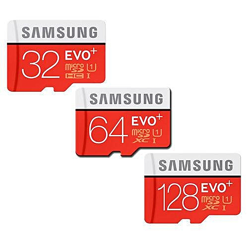 Samsung Evo Plus Class 10 Micro Sd Card With Adapter 64gb Gdmall