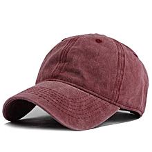 Mens Summer Adjustable Washed Denim Baseball Caps Outdoor Trucker Cap Dad Hats