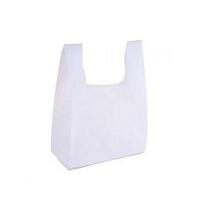 Buy Generic 1000 Pcs Of Small Size Grammage White Non Woven Shopping ... 199ce0b167901